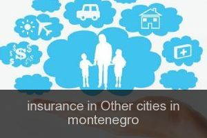 Insurance in Other cities in montenegro