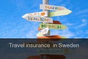 Travel insurance  in Sweden